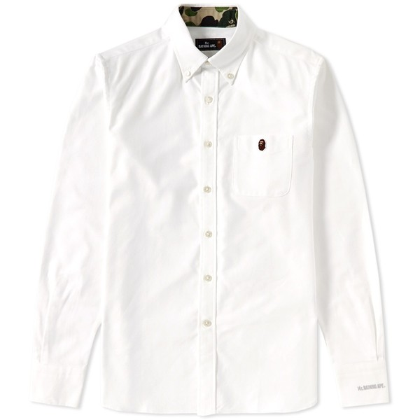 45f96286 Button Down Oxford Shirt by Mr. Bathing Ape — Thread