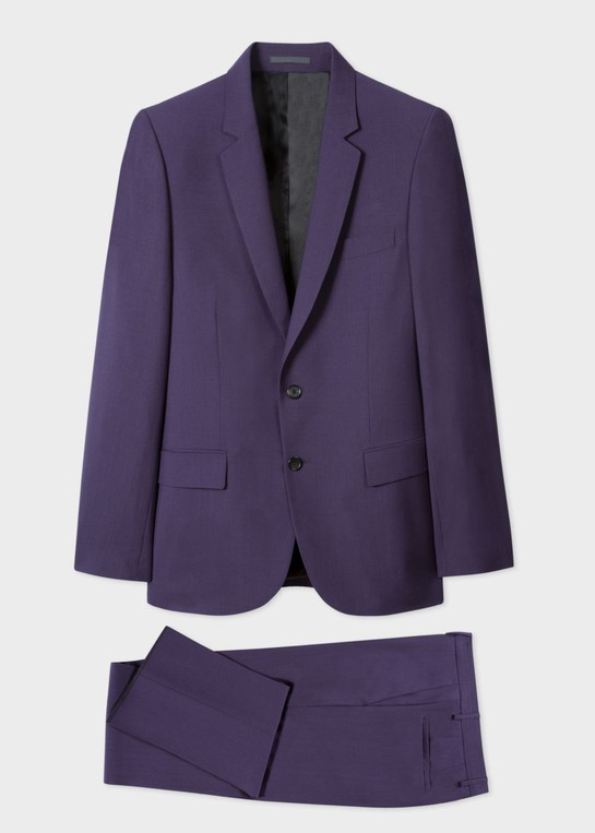 098e7aa70a0 Men s Mid-Fit Purple Wool Suit by Paul Smith — Thread