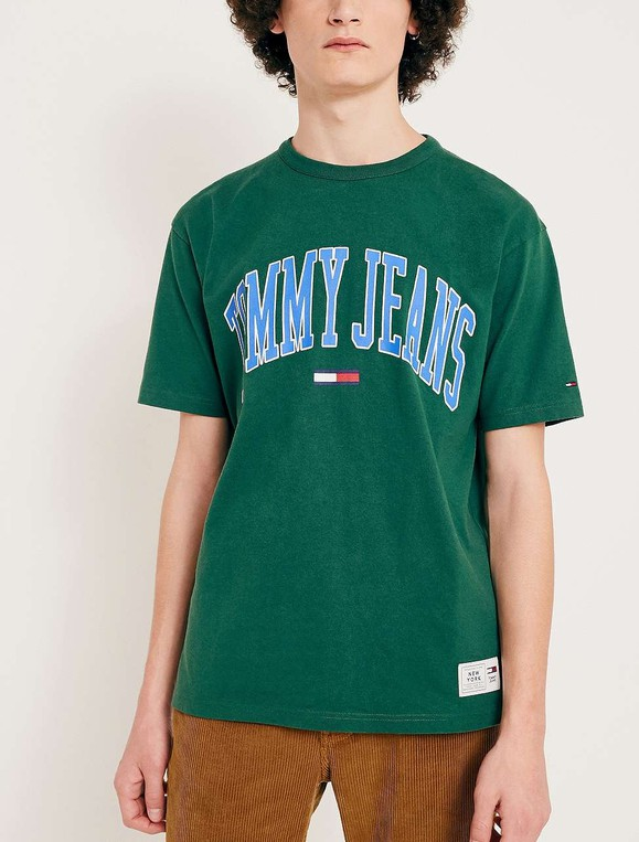 0833ca08 Collegiate Eden Green T-Shirt by Tommy Jeans — Thread
