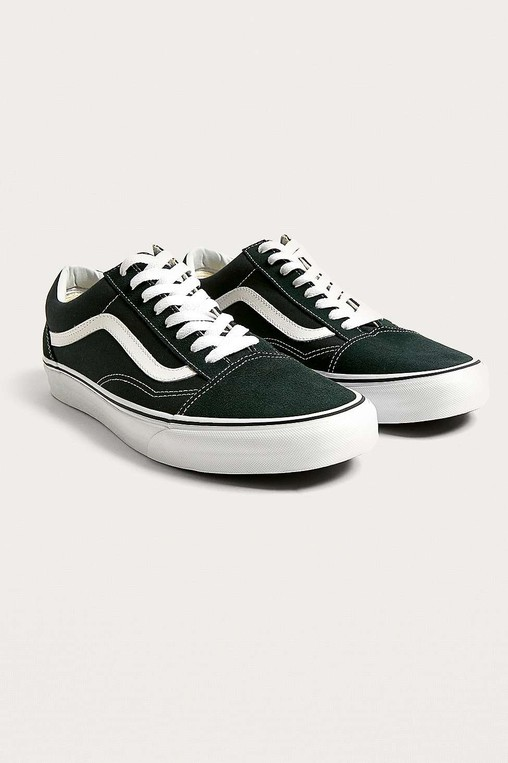 39748f7f625d Old Skool Midnight Green Trainers by Vans — Thread