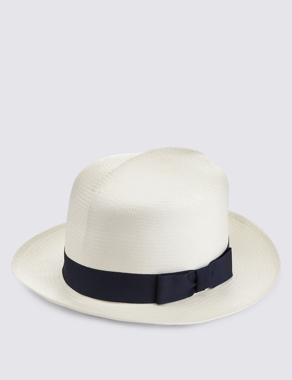 41fd6d697e054b Handwoven Foldable Panama Hat by Marks & ... — Thread