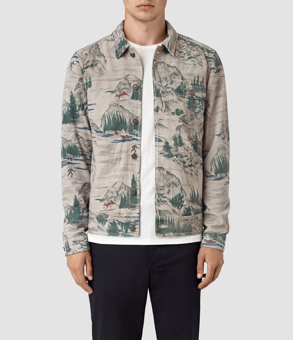 dfad5101 Knox Suede Jacket by AllSaints — Thread