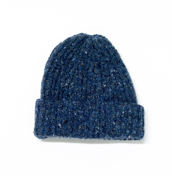 71152d7e5 Inis Meáin Ribbed Hat - Wexford Blue by Private White V.C.