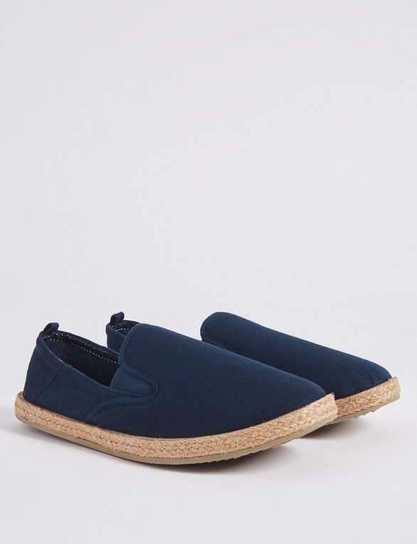 336bc9b83 Cotton Espadrilles by Marks & Spencer — Thread