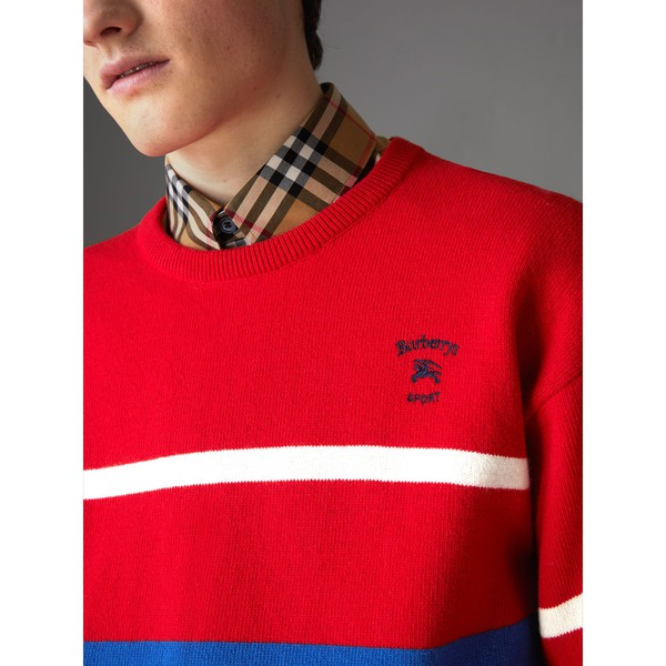 4e0093496820 Reissued Lambswool Sweater by Burberry — Thread