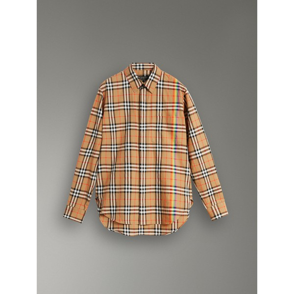 10dcbb4a5ecc Rainbow Vintage Check Shirt by Burberry — Thread