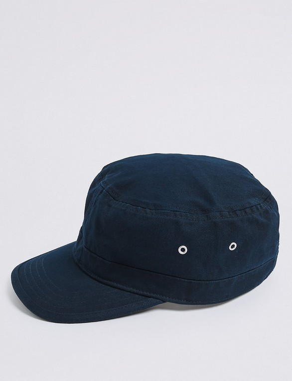 04fd4de05 Pure Cotton Train Driver Hat by Marks & S... — Thread