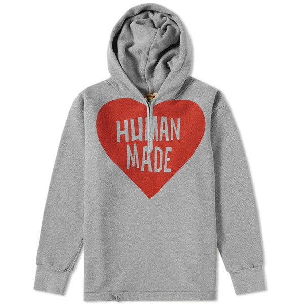 30f525e22d1ea Quarter Zip Pullover Hoody by Human Made — Thread