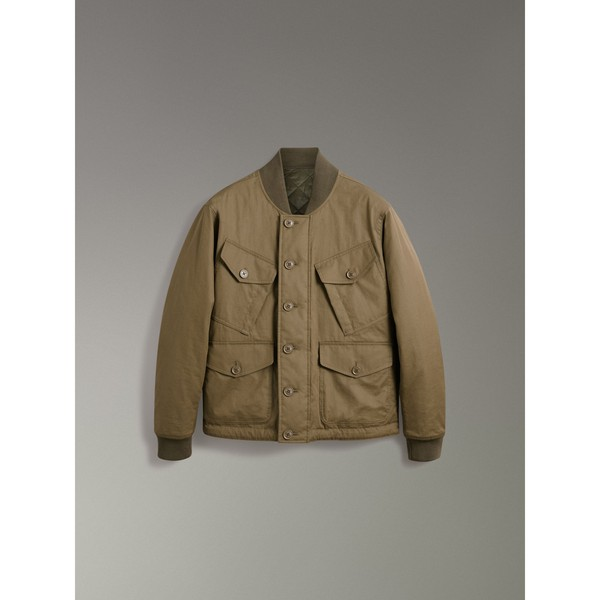 8eea5322d4a Reversible Quilted Bomber Jacket by Burberry — Thread