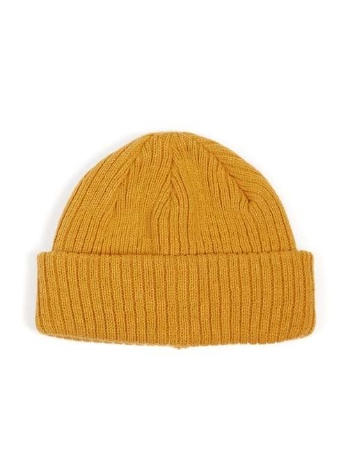 8ab45786b48 Mustard mini fit beanie hat by Topman — Thread