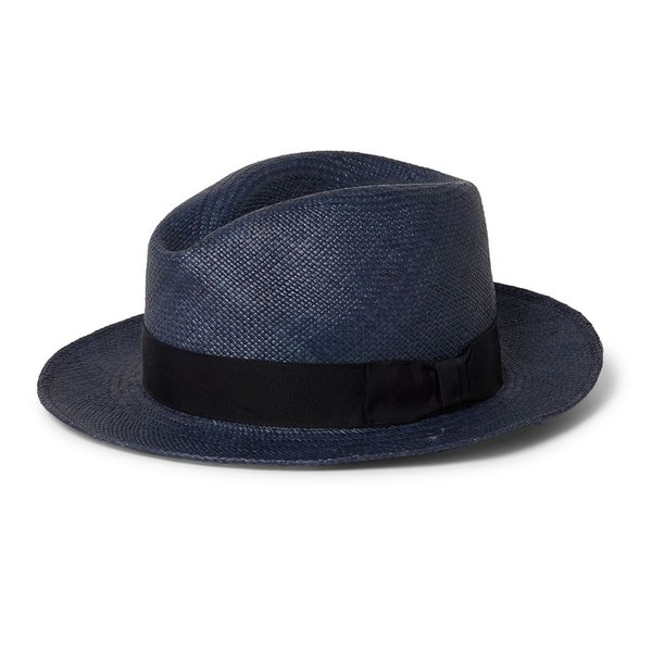 367abb902cc PIERS Navy Traditional Panama Hat by Orle... — Thread