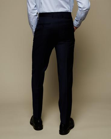 Tailored Birdseye Suit Trouser By Austin Reed Thread Com