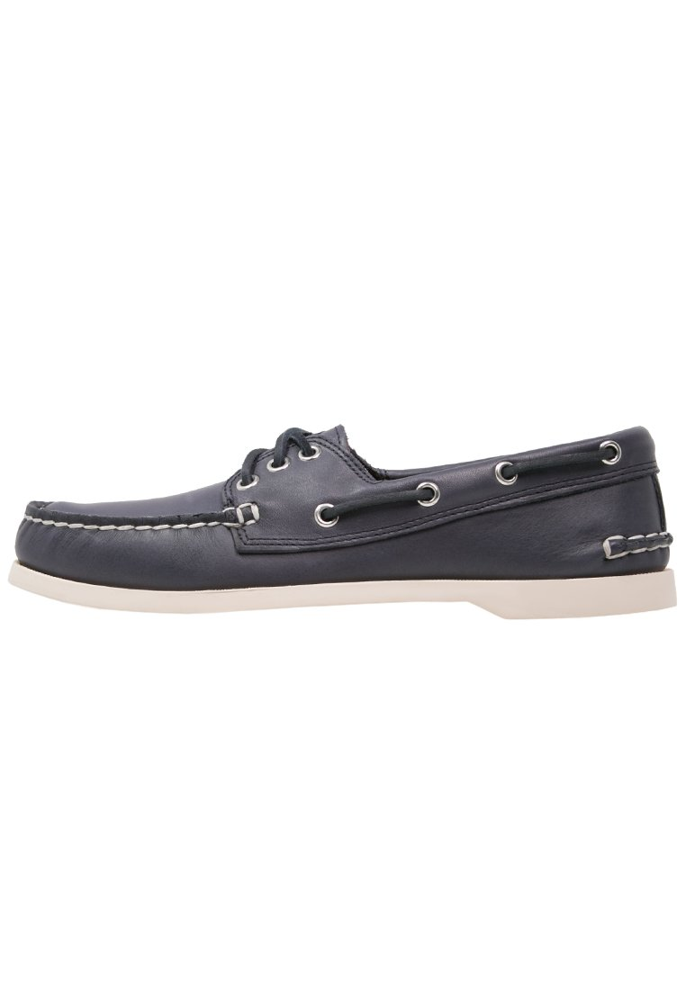 Downeast Leather Boat Shoes - Dark brownQuoddy Psofseea7