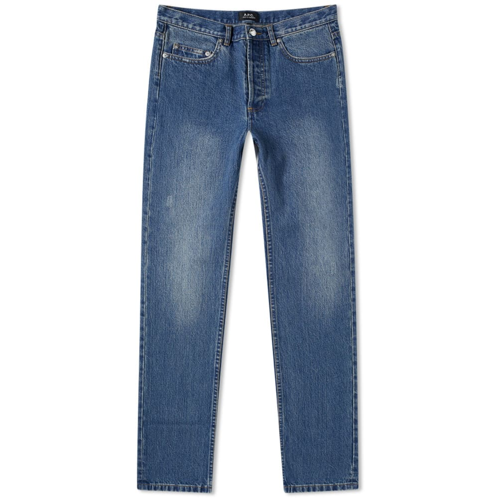 A.P.C. Washed Indigo Standard Re-Issue Jean