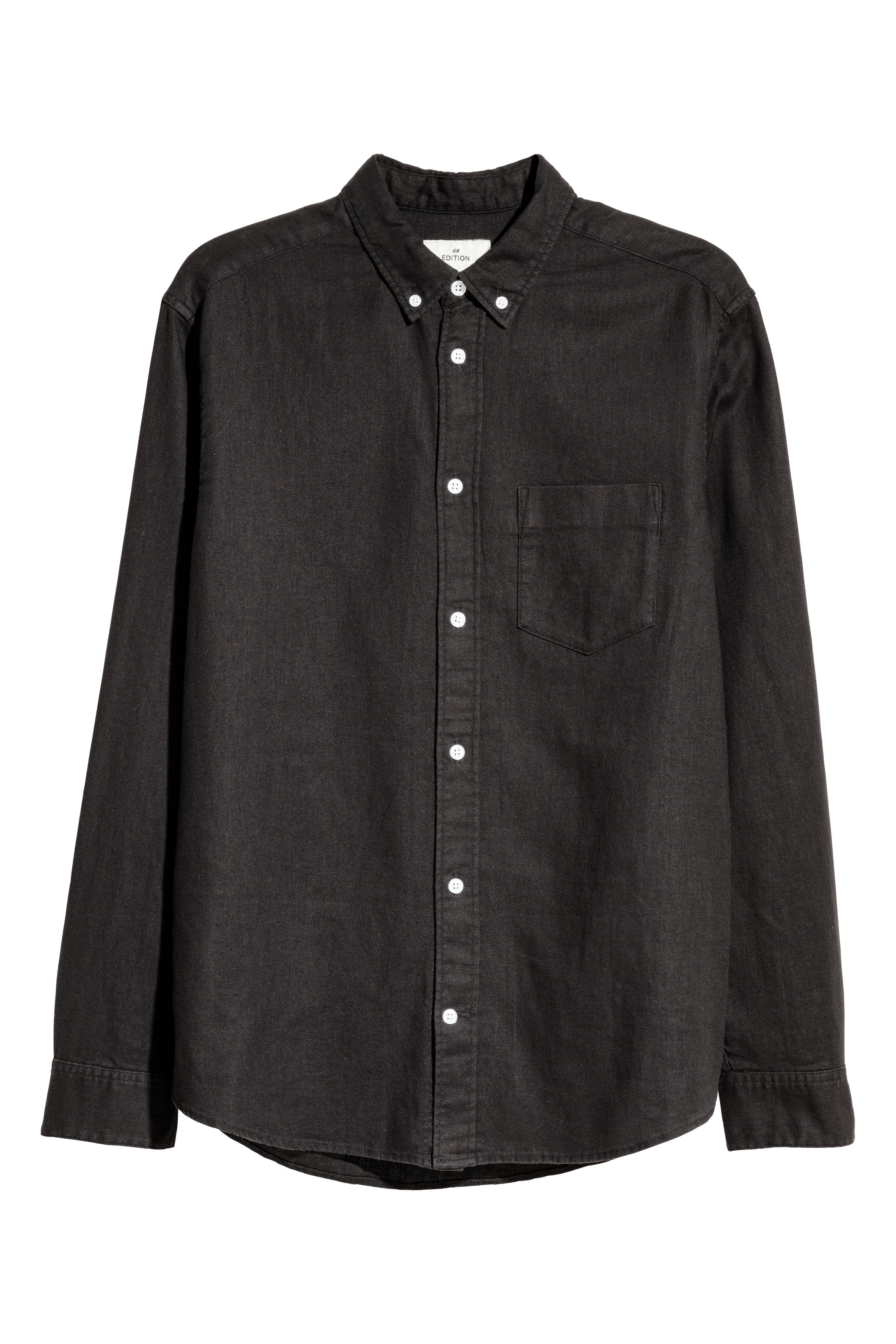 H&M Edition Black Denim shirt