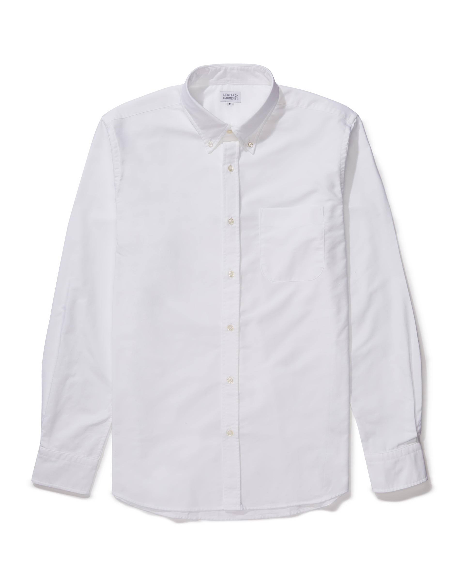 Research Garments White The Perfect Oxford Shirt