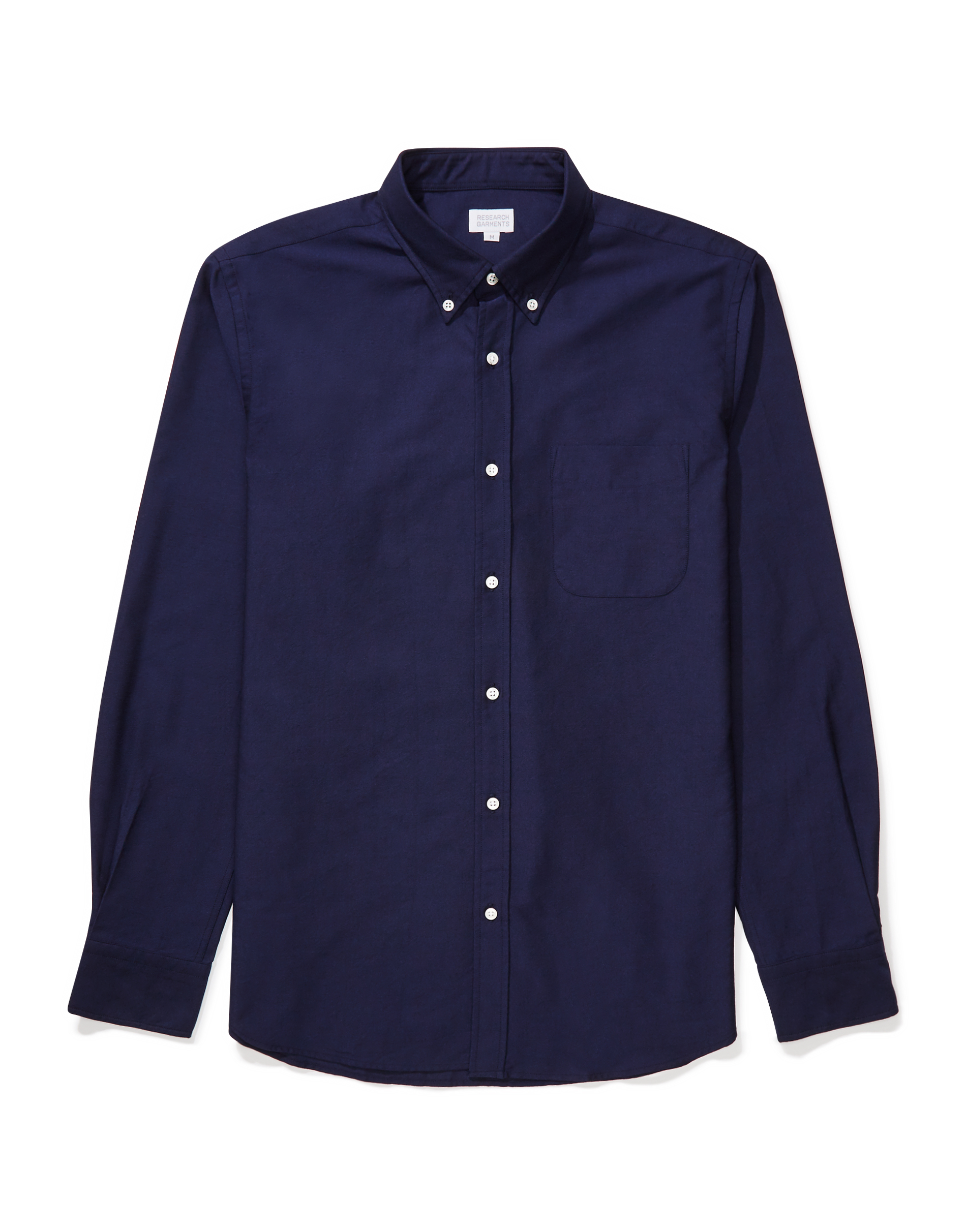 Research Garments Navy The Perfect Oxford Shirt