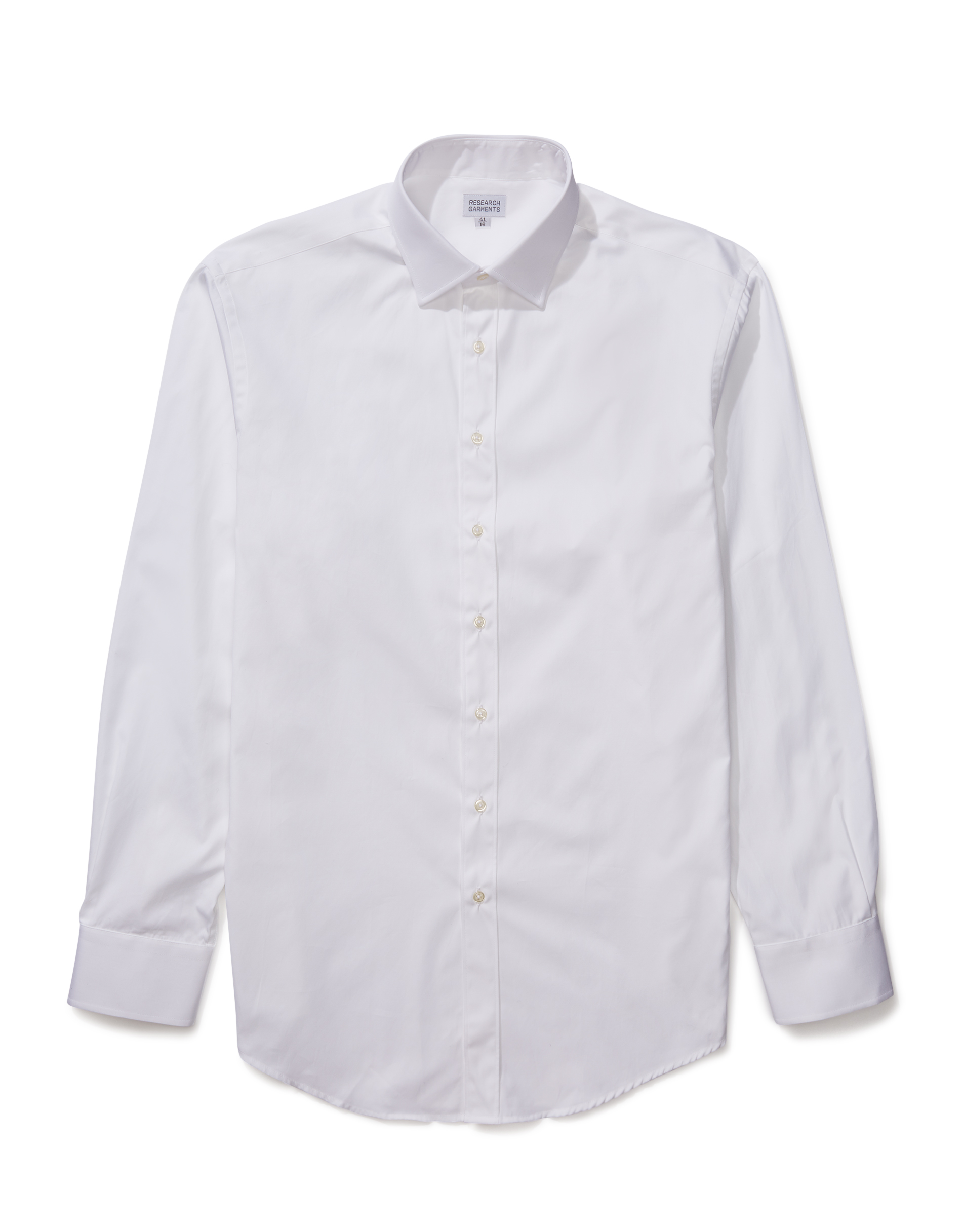 Research Garments White The Perfect Formal Shirt
