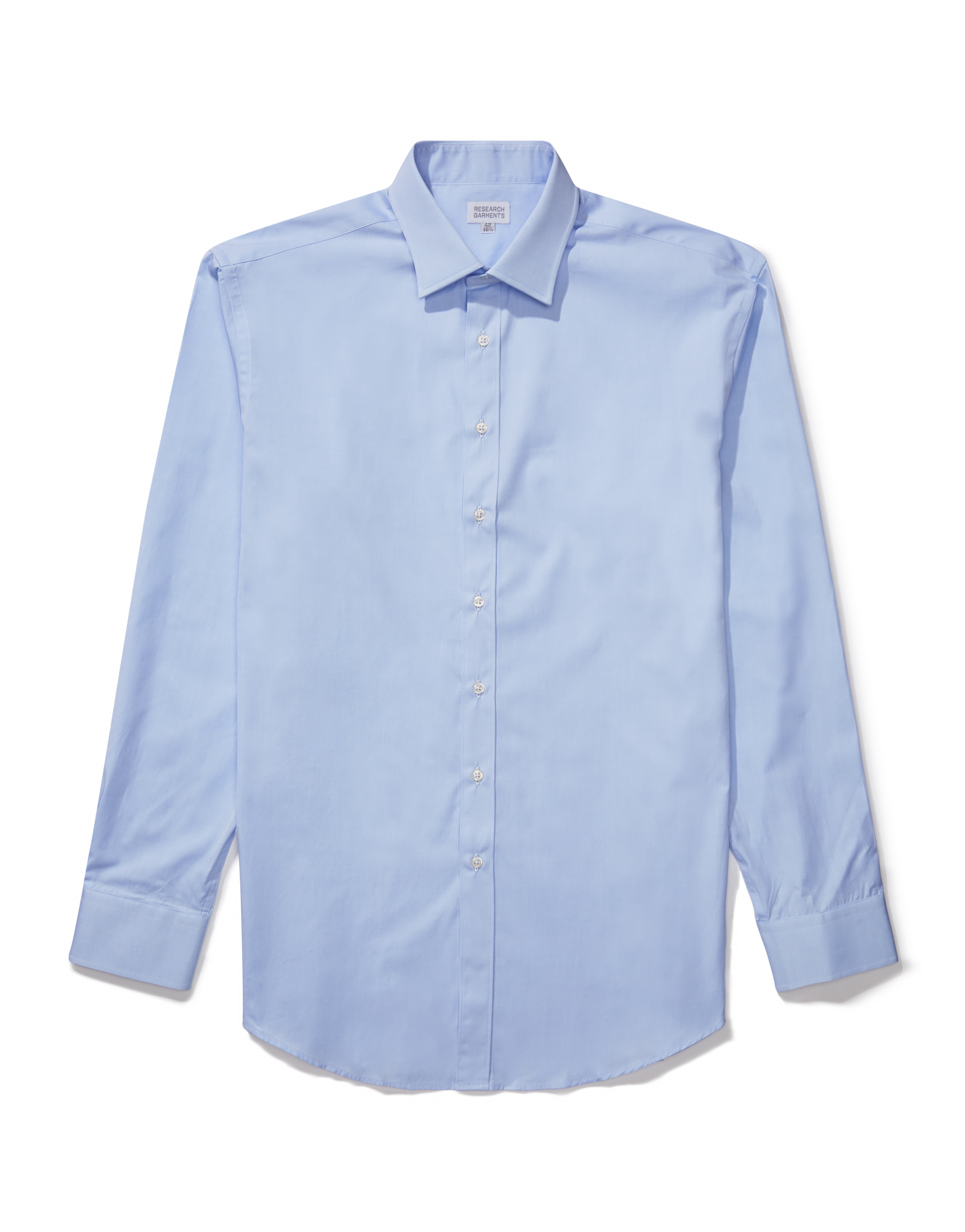 Research Garments Blue The Perfect Formal Shirt
