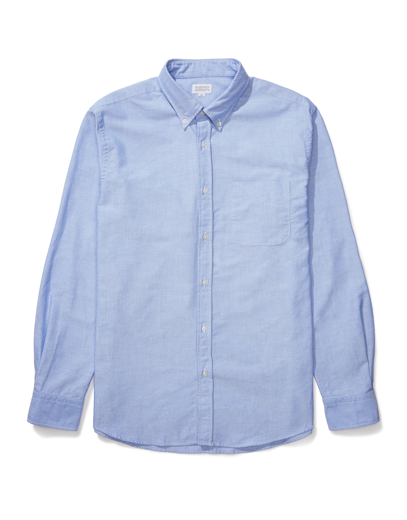 Research Garments Blue The Perfect Oxford Shirt