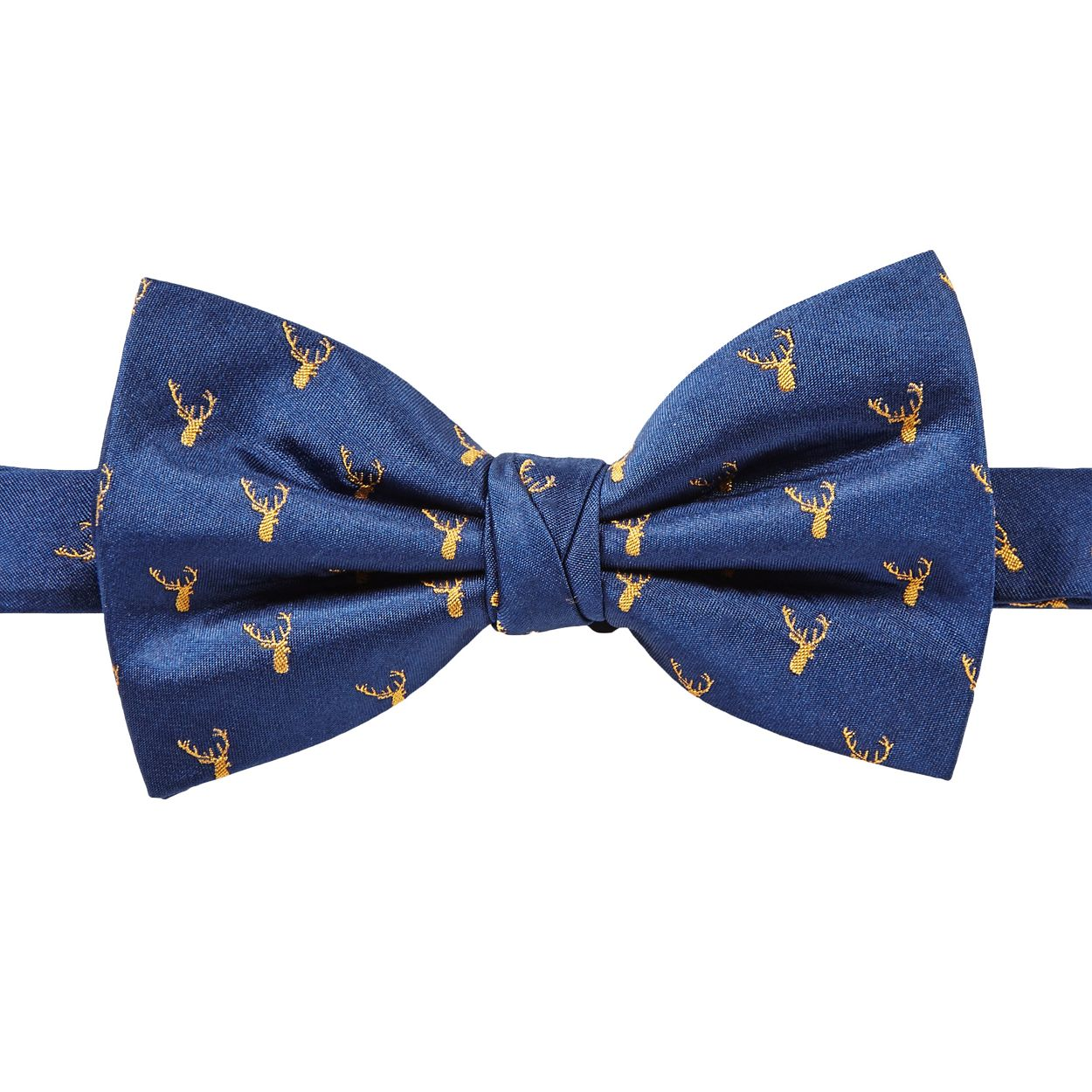 Hammond & Co. by Patrick Grant Navy deer bow tie