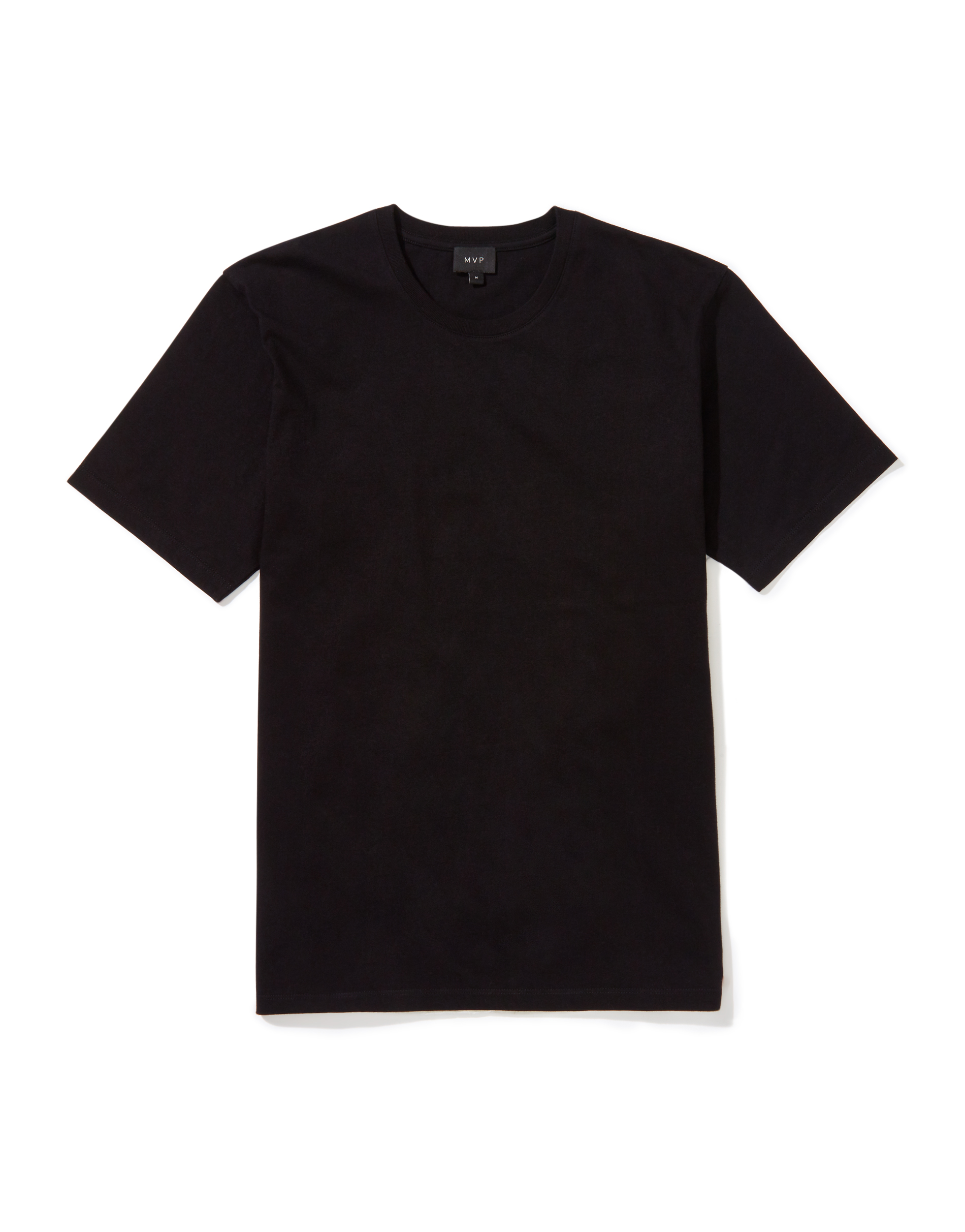 MVP Black Ashfield Crew Neck T-shirt