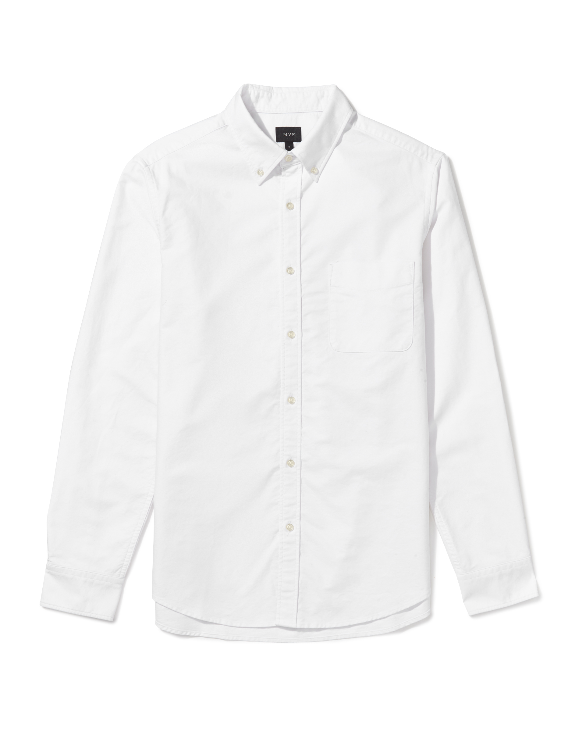 Chapman Oxford Shirt - White by MVP — Thread
