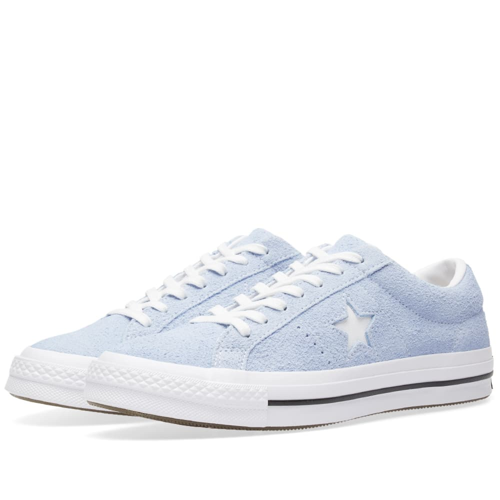 Converse Pastel Blue, White & Black One Star Ox Pastel Pack