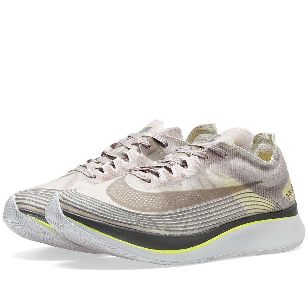 Nike Sepia Stone & Sonic Yellow Zoom Fly