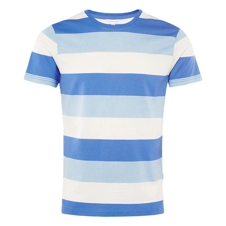 Orlebar Brown SAMMY Heron/Powder Blue/Cloud Classic-Fit T-Shirt
