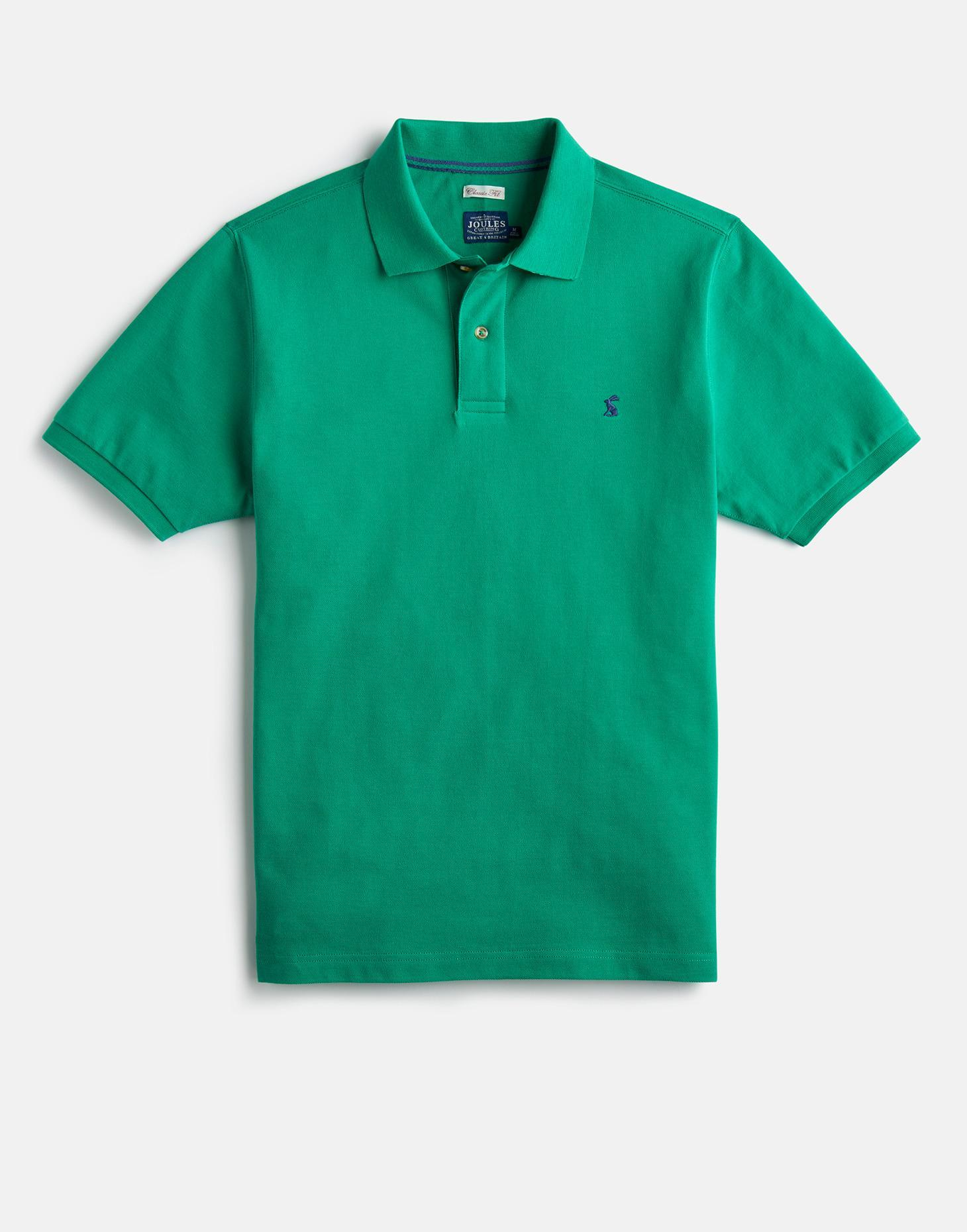 Joules Green WOODY CLASSIC Classic Fit Polo Shirt