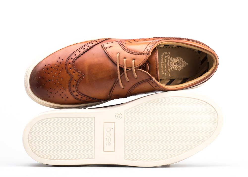 Base London Tan Costello Washed