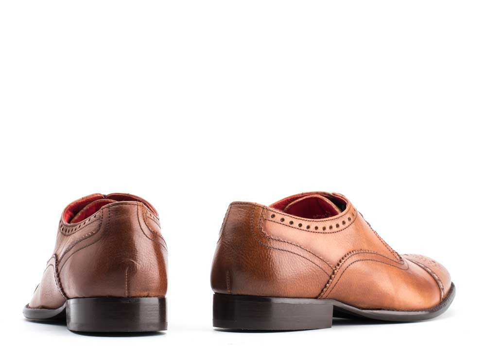 Base London Tan Raeburn Grain