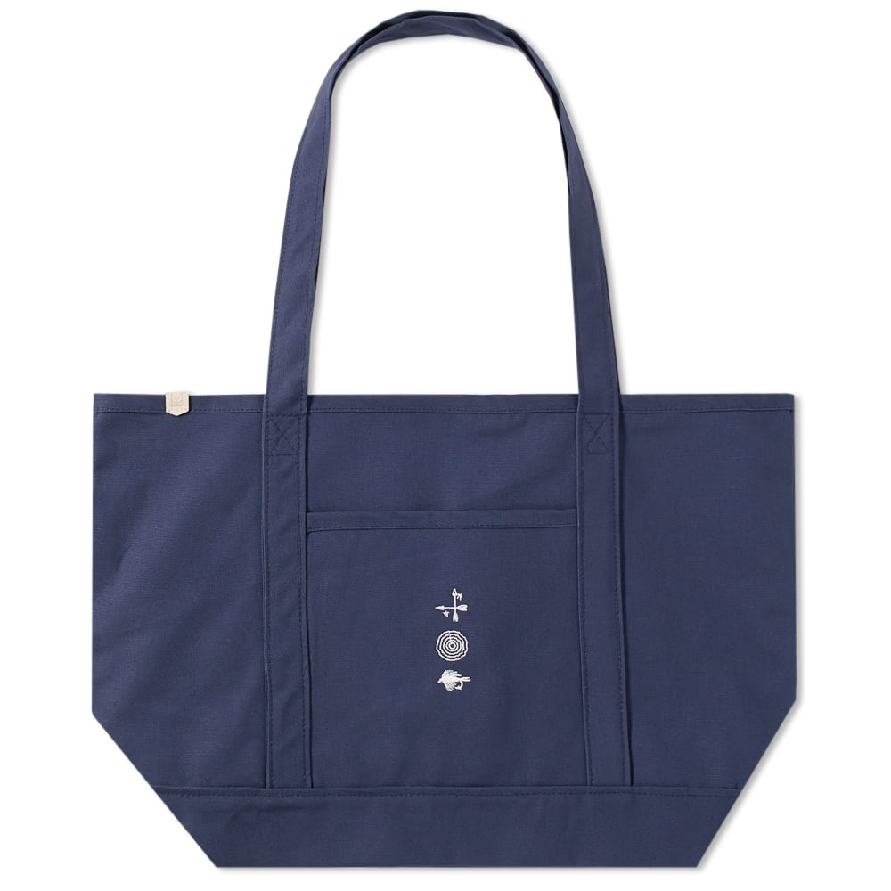 Maple Blue Grocery Tote Bag