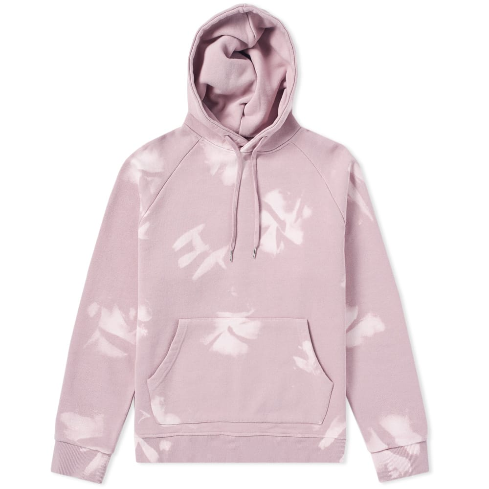 Vanquish Light Pink Black By Vanquish Bleached Popover Hoody
