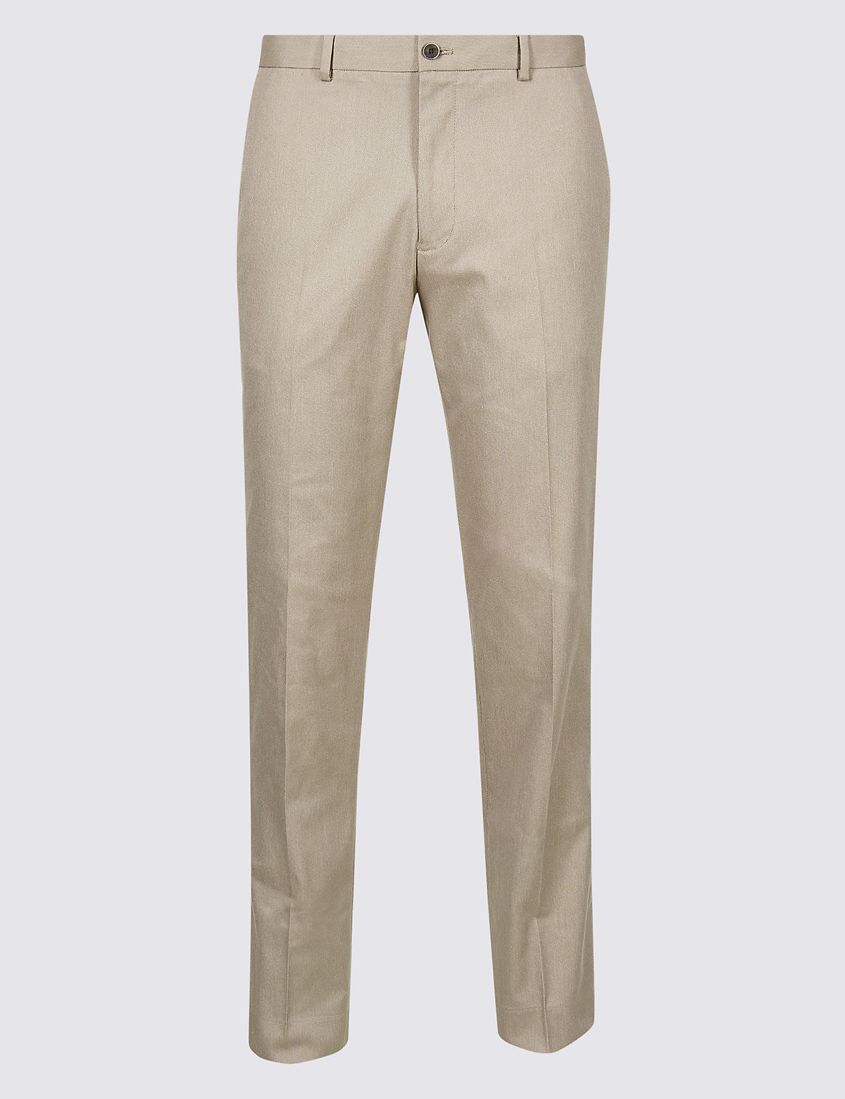 Marks & Spencer Neutral Tailored Fit Trousers