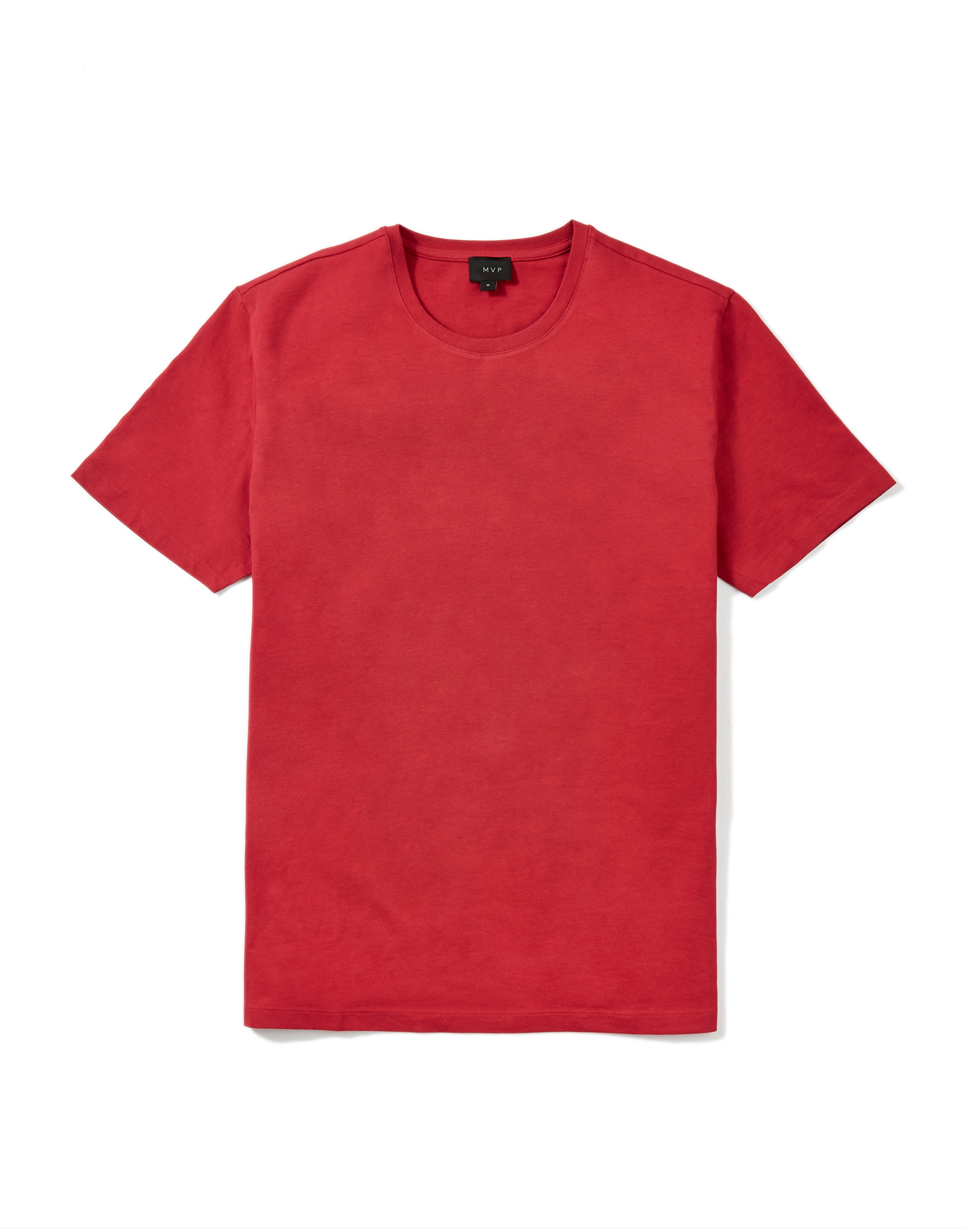 MVP Cardinal Red Ashfield Regular Crew Neck T-shirt