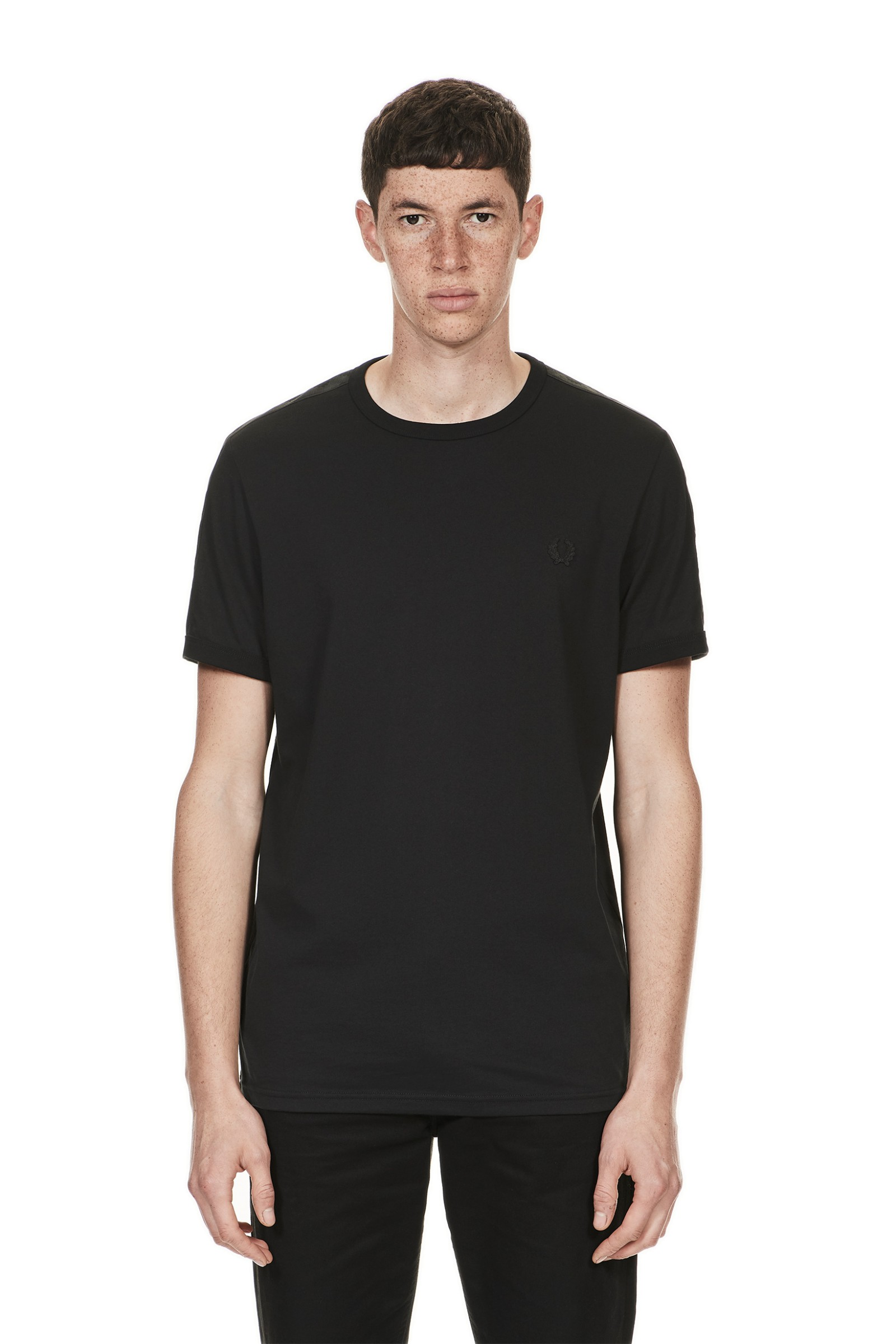 Fred Perry Sports Authentic Tonal Taped Ringer T-Shirt