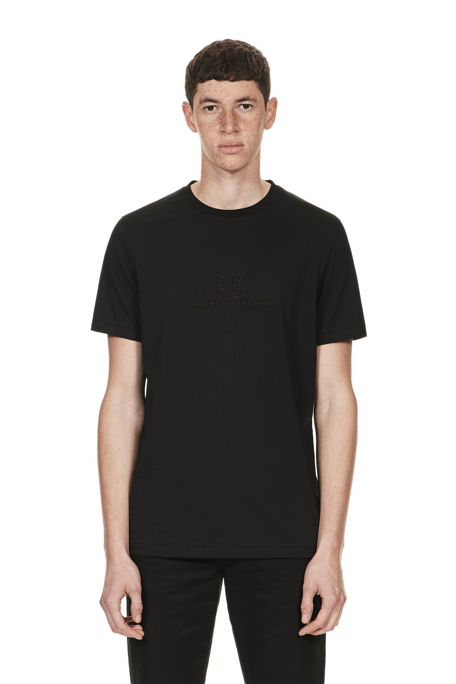 Fred Perry Sports Authentic Tonal Embroidered T-Shirt