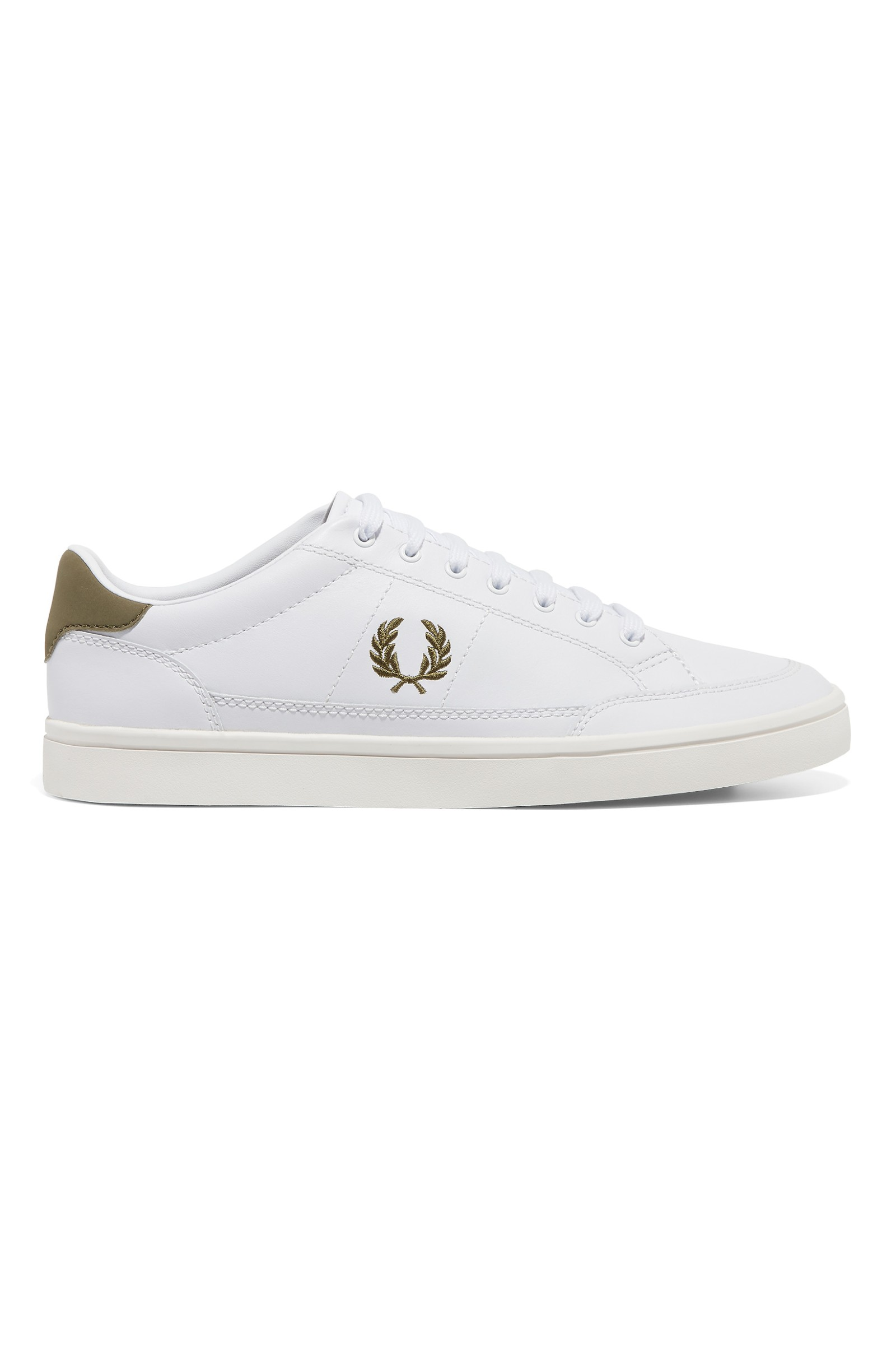 4dc6b9468ceb4 Deuce Leather by Fred Perry