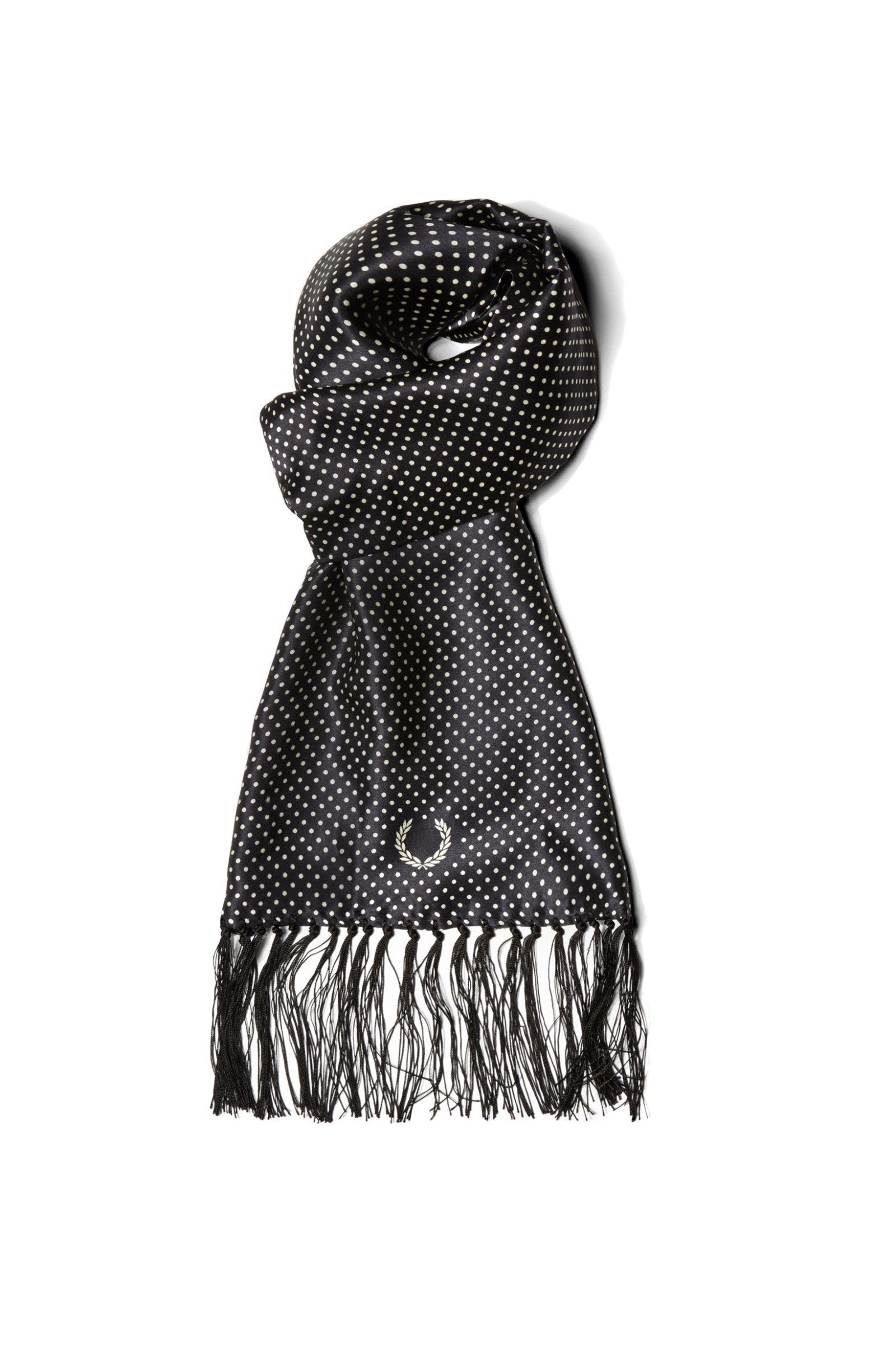 Fred Perry Tootal Polka Dot Scarf