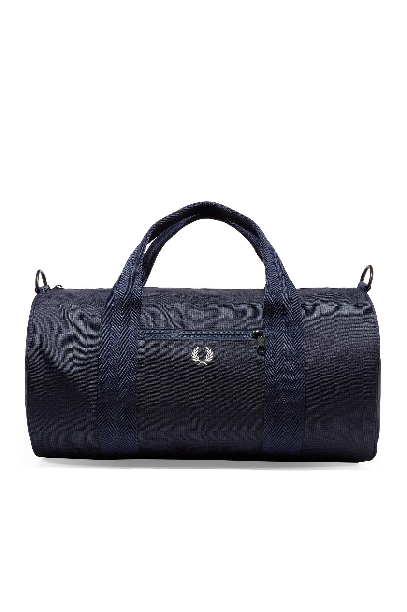 Fred Perry Twill Check Barrel Bag