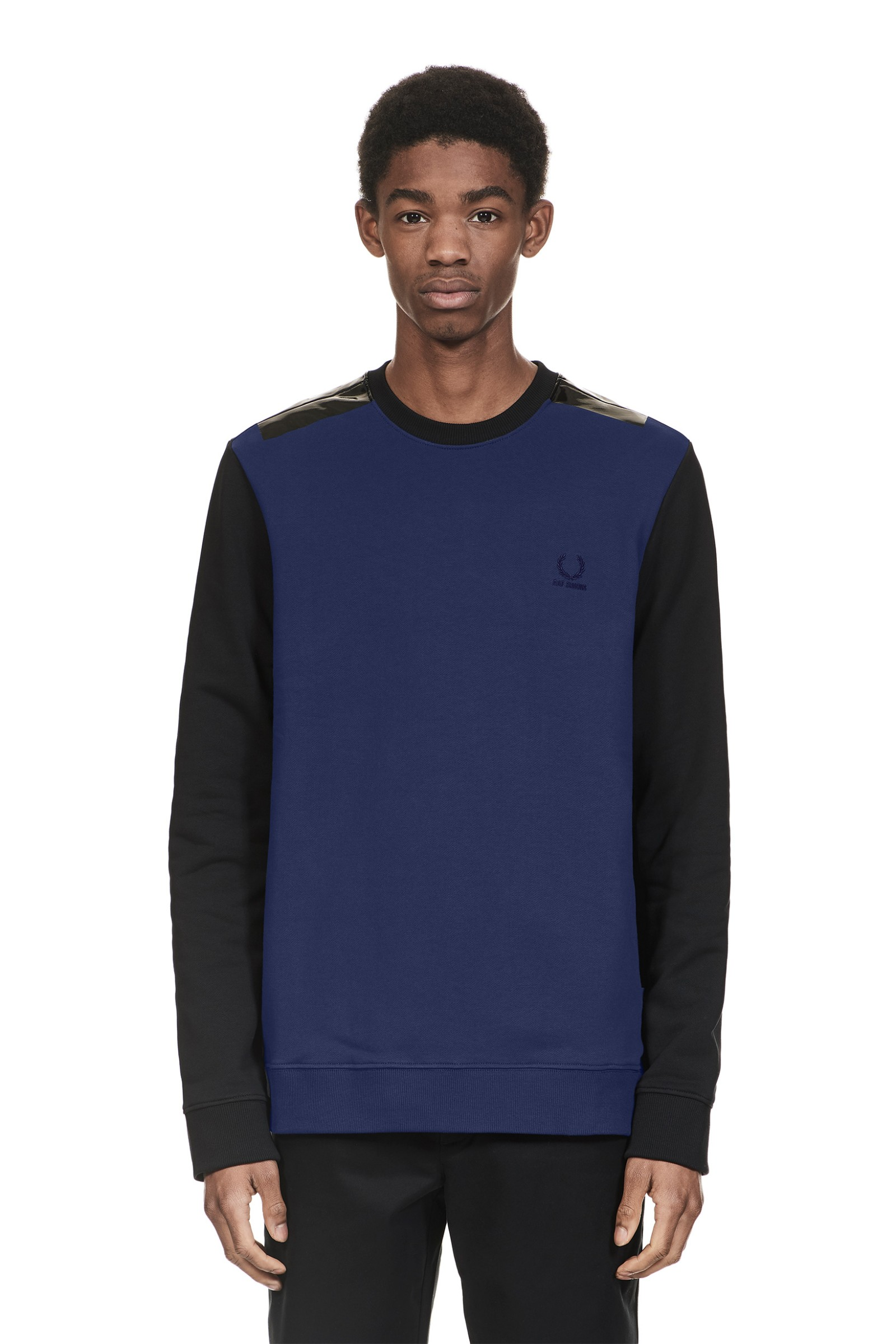 Fred Perry Raf Simons Taped Detail Sweatshirt