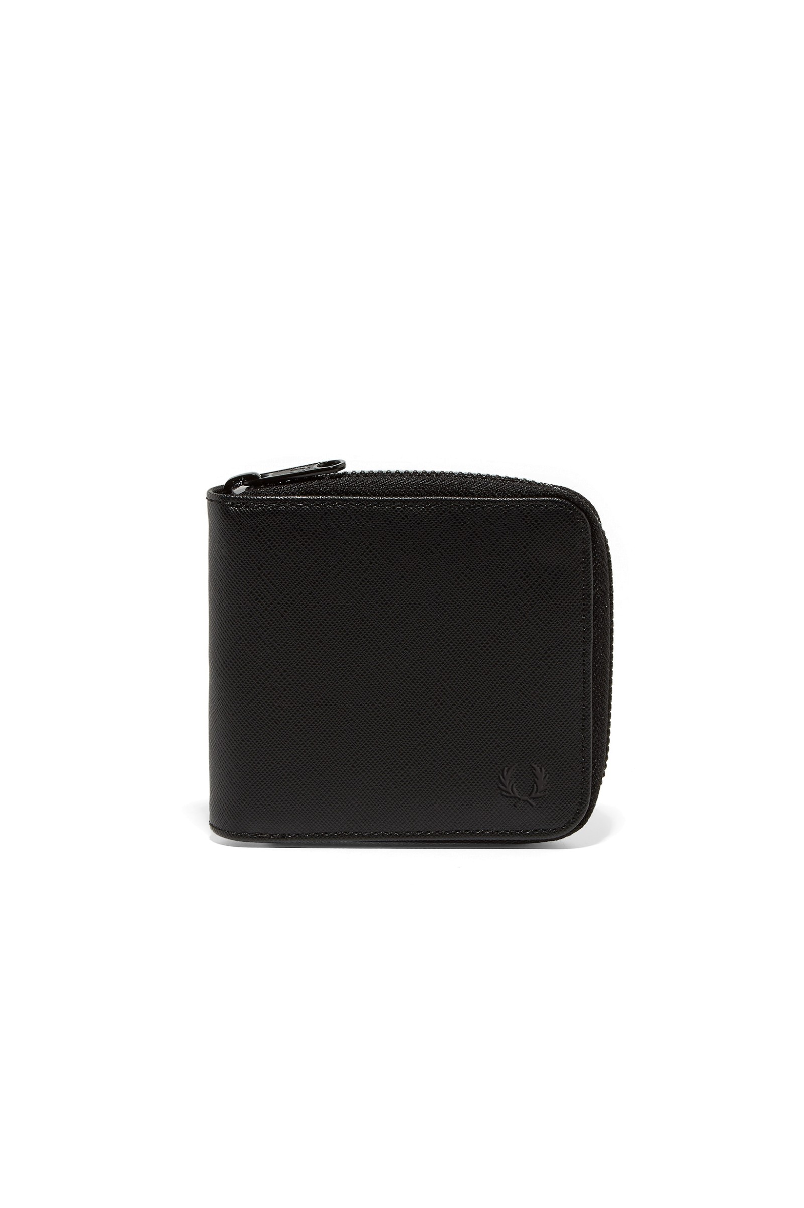 Fred Perry Saffiano Zip Around Wallet