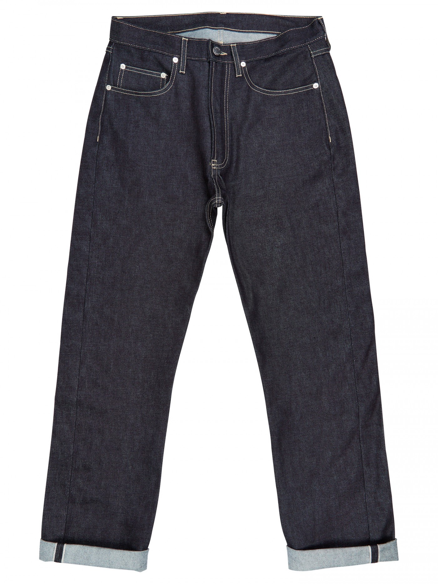 E. Tautz Raw Denim Jeans