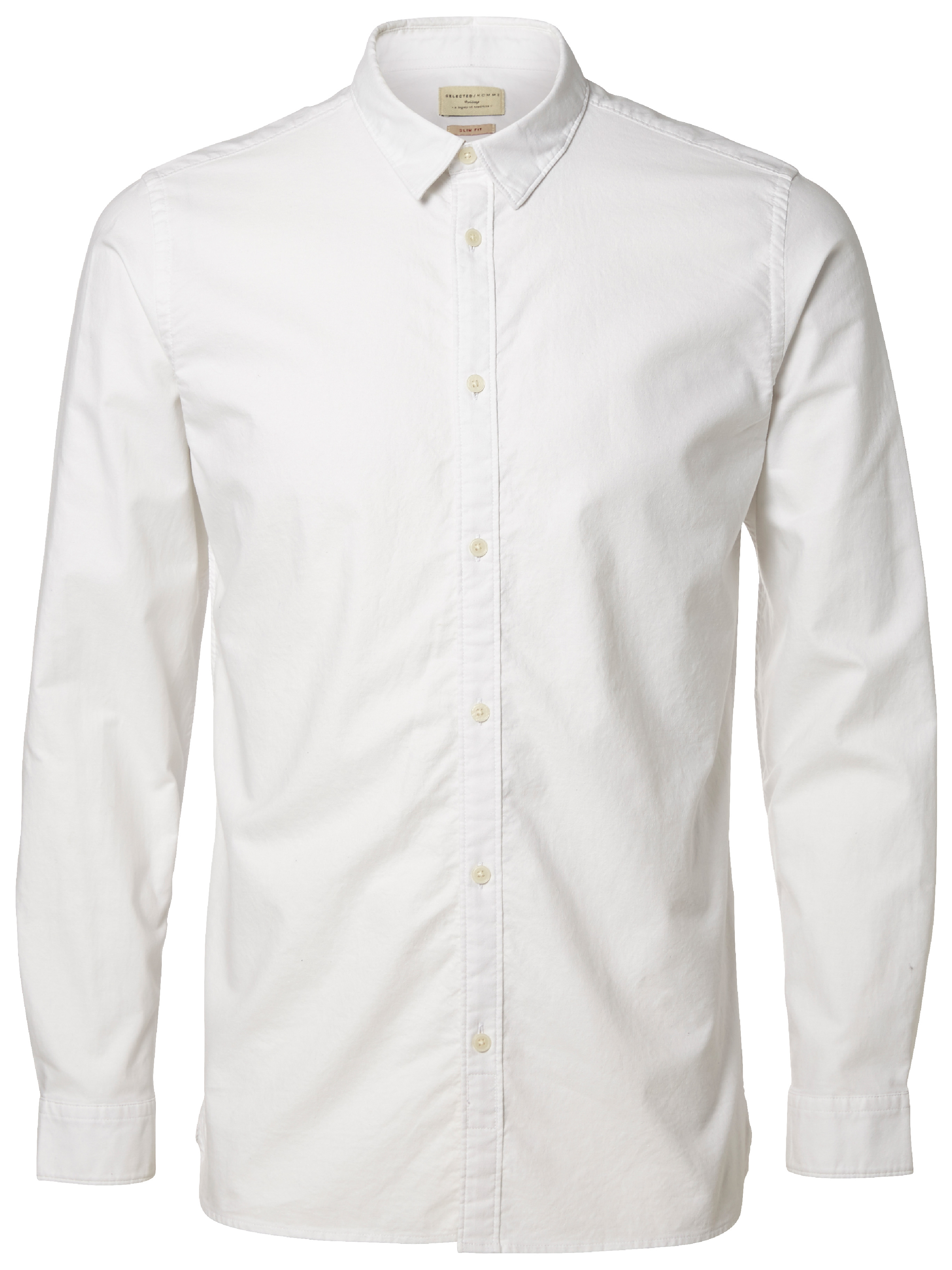 Selected Bright White SHHONEVINCE SHIRT LS