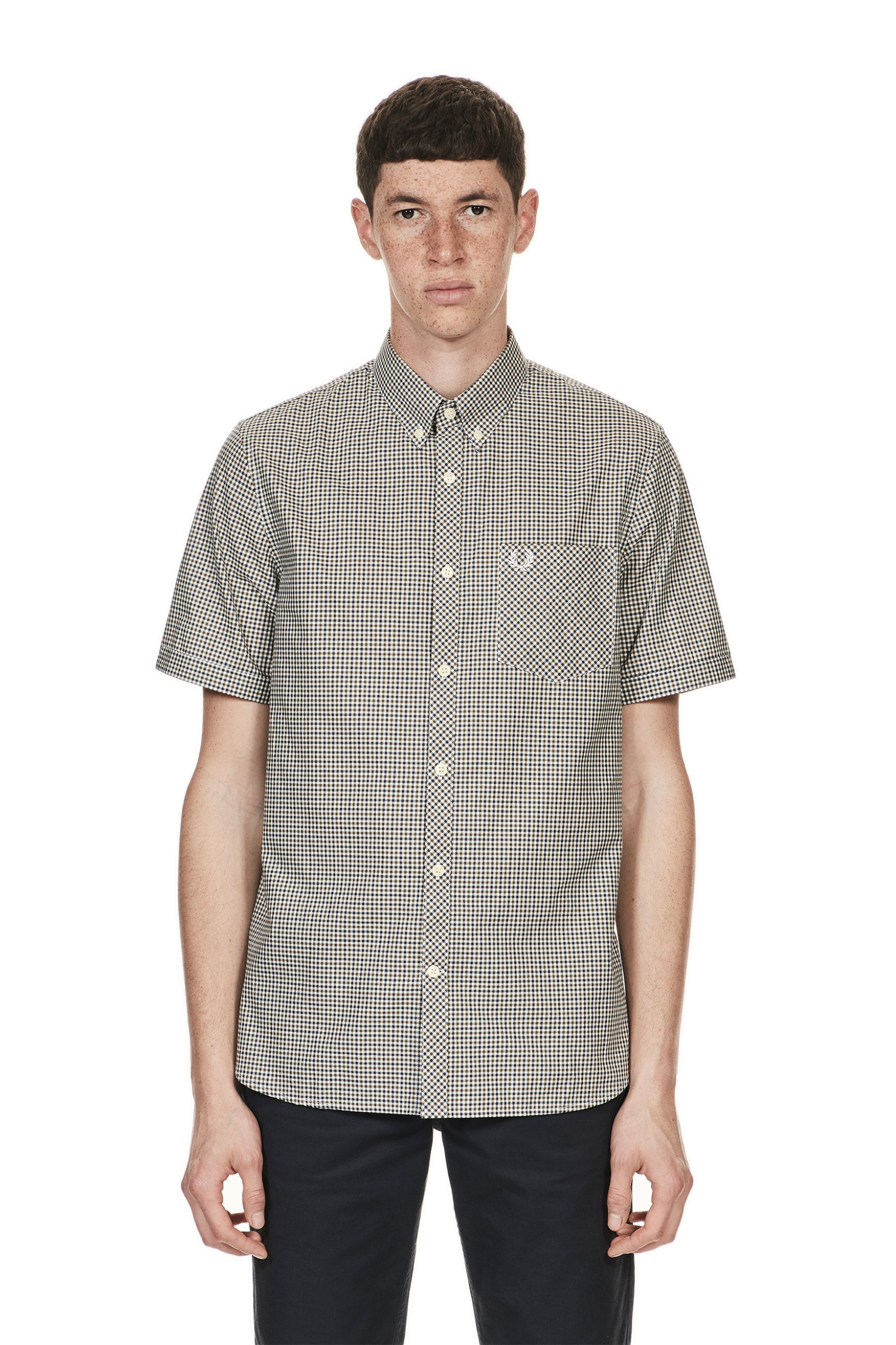Fred Perry Three-Colour Gingham Shirt