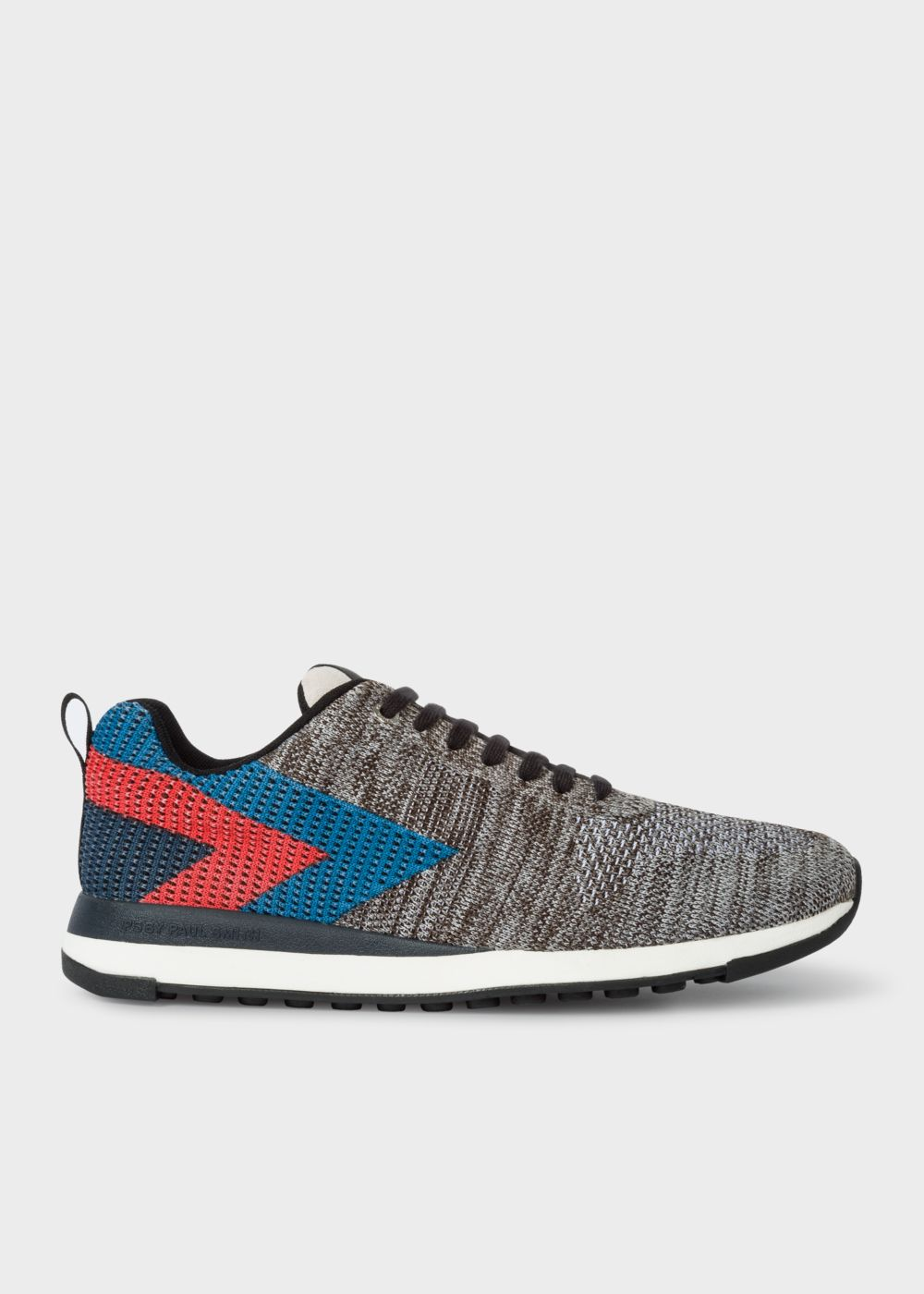Paul Smith Men's Grey Mlange 'Rappid' Knitted Trainers