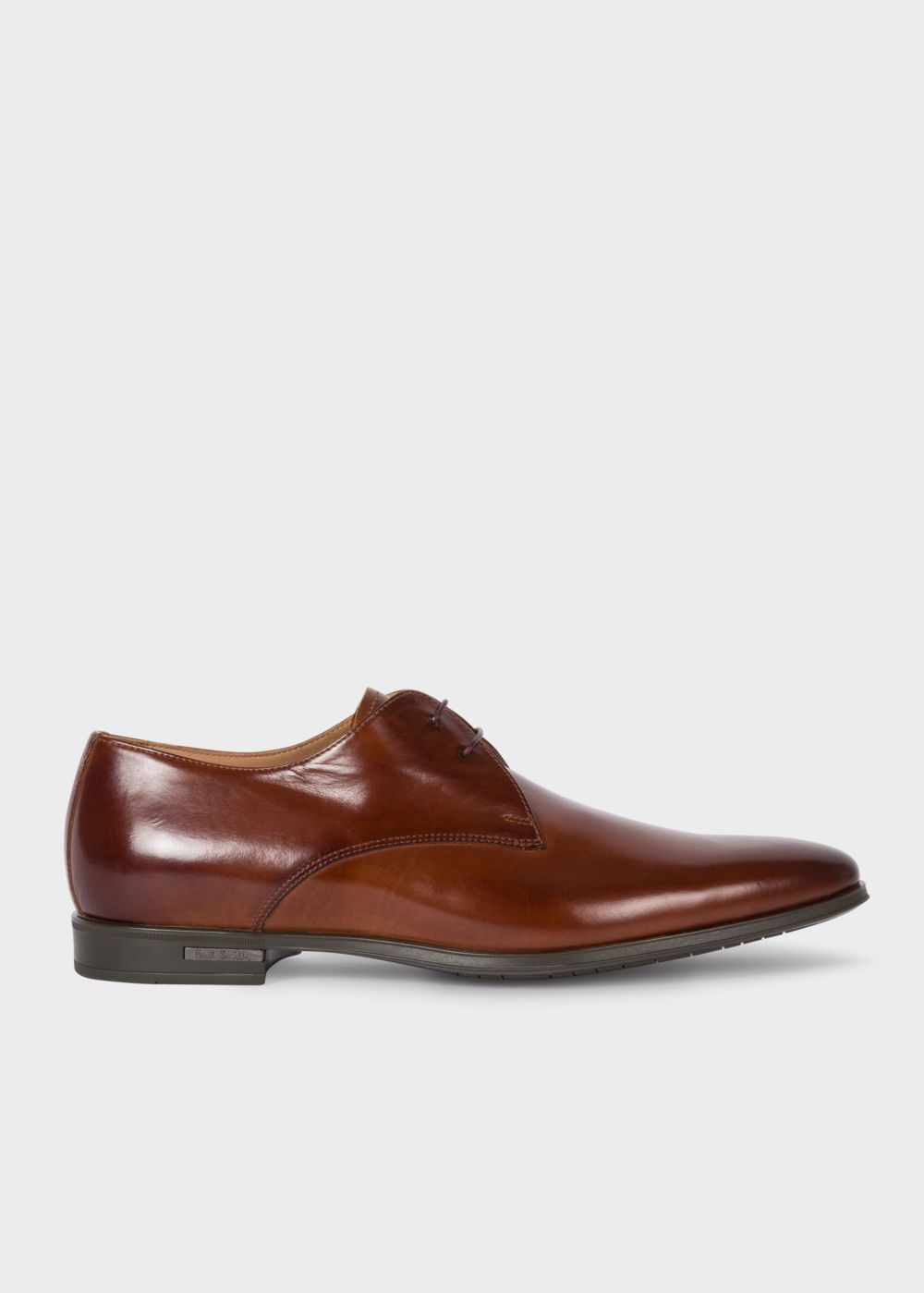 Paul Smith Men's Tan Leather 'Coney' Derby Shoes