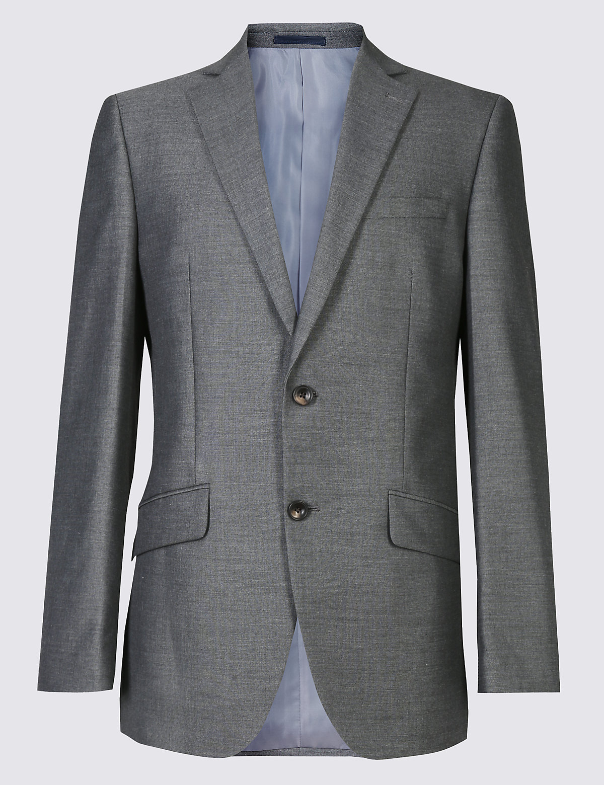 Marks & Spencer Big & Tall Grey Tailored Fit Jacket